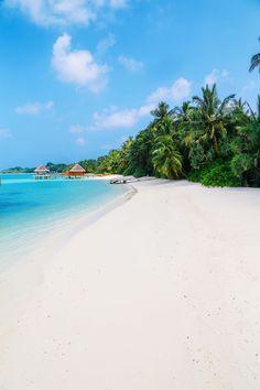 The Long Island Of Kuramathi... In The Maldives