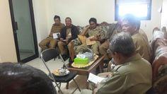 Rapat koordinasi dengan pihak kelurahan terkait dengan penyampaian sppt pbb kepada masyarakat