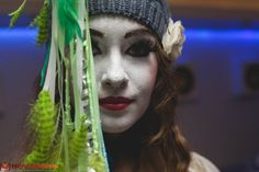Mime Makeup, Dreadlocks, Brass, Ring, Hair Styles, Beauty, Clowns, Hair Plait Styles, Rings