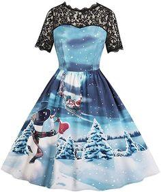 Lace Panel Snowman Print A Line Dress. Lace Panel Snowman Print A Line Dress. Lace Panel Snowman Print A Line Dress. They are beautiful, lovable and affordable. You deserve it! Ball Gown Dresses, Women's Dresses, Blue Dresses, Fashion Dresses, Fashion Clothes, Dresses Online, Dress Outfits, Vestidos Vintage, Vintage Dresses