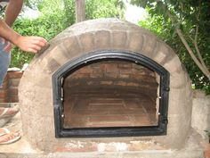 hornos de barro Oven Diy, Diy Pizza Oven, Brick Oven Pizza, Pizza Oven Outdoor, Outdoor Cooking, Pizza Ovens, Grill Oven, Stove Oven, Wood Fired Oven