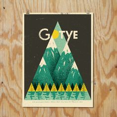 Fab.com | Gotye NYC Green Poster 18x24