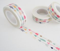 Feather Arrows Washi Tape - Colorful Washi Tape