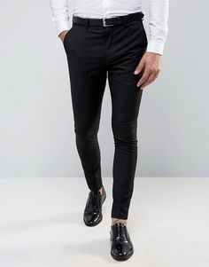 Selected Homme Super Skinny Tuxedo Suit Pants