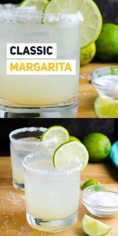 MARGARITA Margaritas are a staple for Taco Tuesday, any time you're serving delicious Mexican food – or literally anytime. This classic margarita recipe is made with only three simple ingredients and ALWAYS gets five stars from friends! Easy Margarita Recipe, Classic Margarita Recipe, Margarita Recipes, Cocktail Recipes, Cabo Wabo Margarita Recipe, Dinner Recipes, Margarita Tequila, Easy Mocktail Recipes, Workout Exercises