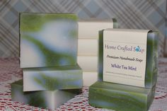 White Tea Mint Soap