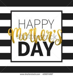 Vector calligraphy. Hand drawn lettering poster. Vintage typography card. Happy mothers day.
