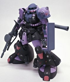 High Mobility Type Zaku for test