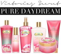 Victoria Secret's Pure Daydream Fragrance- MY FAVOURITE SCENT! just purchased this and it's amazing !