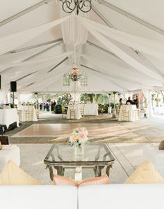 Reception Tent