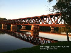 Wordless Wednesday: Androscoggin River, Brunswick, Maine