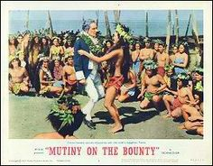 "BEST ART DIRECTION/SET DECORATION-COLOR-NOMINEE: George W. Davis and J. McMillan Johnson/Henry Grace and Hugh Hunt for ""Mutiny On The Bounty""."