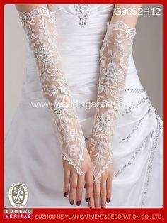 Elegent moda de encaje de boda largo sin dedos de novia guantes-imagen-Guantes de Novia-Identificación del producto:649201616-spanish.alibaba.com