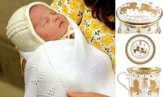 The Royal Collection is first to cash in on the new baby | Her Royal Highness Princess Charlotte Elizabeth Diana of Cambridge