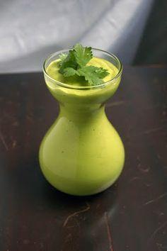 Cilantro lime avocado dressing