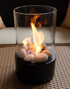 Tabletop fireplace - gel fuel