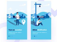 Recipe app 4 designed by Sudhan Gowtham . the global community for designers and creative professionals. Ui Design Mobile, App Ui Design, User Interface Design, Layout Design, Flat Illustration, Graphic Design Illustration, Splash Screen, Apps, Web Design Inspiration