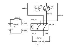 DPDT Relay Circuit