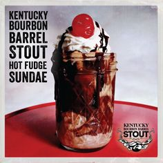 Beer recipes - Kentucky Bourbon Barrel Stout Hot Fudge Sauce Recipe -  I made this. It is delicious.