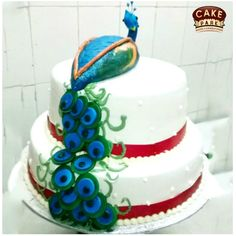 Looking for a lovely peacock theme cakes in #Chennai. No matter what the occasion is, #Peacock #themecake would never. For more: http://www.cakepark.net Call us: +91-44-4553 5532