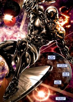 I am the Silver Surfer  Auction your comics on http://www.comicbazaar.co.uk