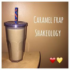 Di's Food Diary 21 Day Fix Approved Recipe = Caramel Frap Shakeology