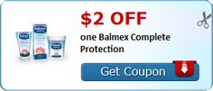New Coupon!  $2.00 off one Balmex Complete Protection - http://www.stacyssavings.com/new-coupon-2-00-off-one-balmex-complete-protection/