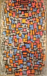 Composition 1916 - (Piet Mondrian)
