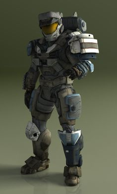 Omega Team / Spartan II Robert - 025 [Halo Reach] by TheMachinifilms