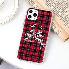 Cartoon Merry Christmas Tree Thin TPU Soft Cases Iphone 5s, Iphone 8 Plus, Iphone Cases, Shell, Iphone Models, 6s Plus, Brand Names, Fall Decor, Merry Christmas
