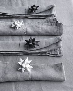 Danish Origami Stars | Table setting