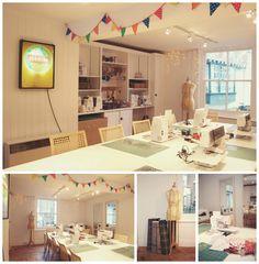The sewing shop - Canterbury | Rebecca Douglas Photography