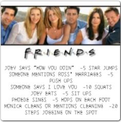 F.R.I.E.N.D.S WORKOUT