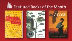 Learn more about the November featured Books of the Month for adults, teens and kids!
