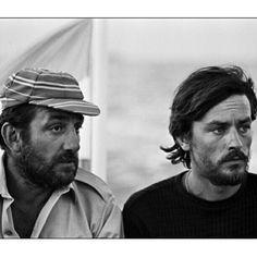 Lino Ventura & Alain Delon