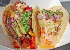 We interrupt your Pinterest newsfeed with these mouth-watering tacos for an important message: tonight is Food Truck Fare After Dark!    This evening 5:30P we return to the OC Fair (88 Fair Drive, Costa Mesa, CA) with: Piaggio On Wheels, Waffle-icious, Ninjas With Appetite, Lobsta Truck, Burger Monster, Chunk N Chip, Garlicscapes and The Burnt Truck. Join us!    More: http://www.sohotaco.com/2013/02/27/tonight-its-food-truck-fair-after-dark-oc-fair-costa-mesa-ca-join-us/