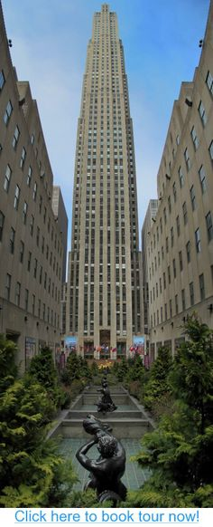Rockefeller Center, New York City #nyc #tours #bus_tours