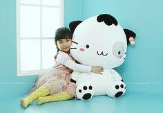 cute girl with cat plush #cat #cute #kawaii