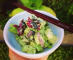 This Avocado Hemp Salad is a wonderful, low-fat, high fiber recipe that is satisfying and nutrient dense. Hemp seeds are also a great source of Vitamin B12!