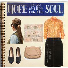Orange Summer ◆ Apostolic Pentecostal Fashion ◆ by ac-yooo on Polyvore featuring polyvore mode style Dorothy Perkins H&M MANGO