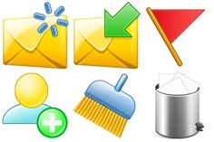 Email Icons icon archive application start