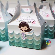 Mermaid gable box