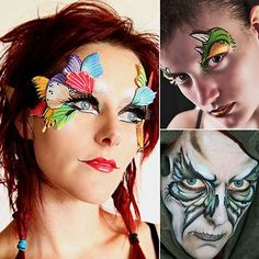 | of Face Painting Ideas For Men Halloween Easy Last Minute Halloween ...