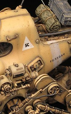 1:20 sci-fi scale model, Maschinen Krieger: Jerry, by Marcel du Long. Pinned by #relicmodels