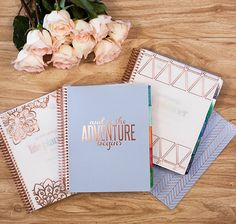 The NEW limited edition Rose Gold Erin Condren LifePlanner is to die for!