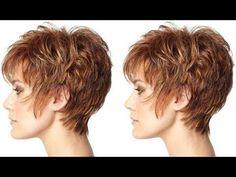 How to Short Razor Layers Haircut Tutorial - Hairbrained - YouTube