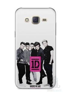 Capa Capinha Samsung J7 One Direction #2 - SmartCases - Acessórios para celulares e tablets :)