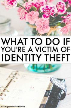 What To Do If You're A Victim Of Identity Theft. Sadly, identity theft impacts over 16 million people each year and that number is expected to keep growing.