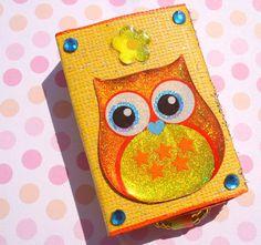 Hey, I found this really awesome Etsy listing at https://www.etsy.com/listing/202892222/orange-owl-match-box-keepsake-jewelry