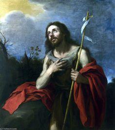'Johannes der Täufer in der Wüste' von Bartolome Esteban Murillo (1617-1682, Spain)